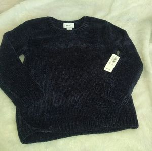 Old Navy | Toddler Navy Blue Chenille Sweater NWT